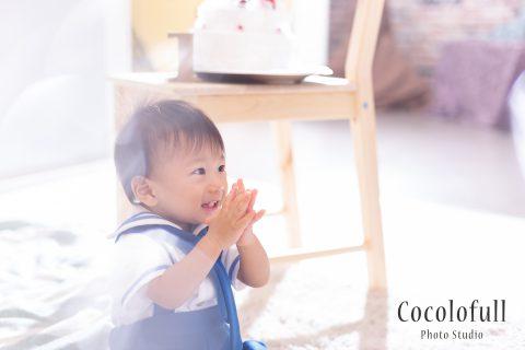 1歳のお誕生日☆