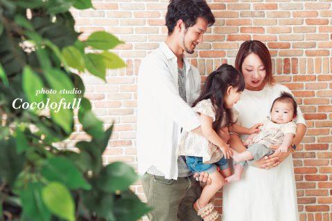 ◯ 家族写真の成長記録 ◯