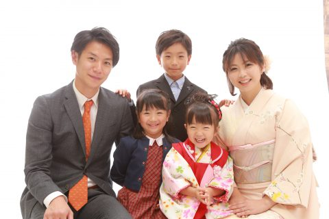 ◇ 家族みんなで七五三撮影 ◇