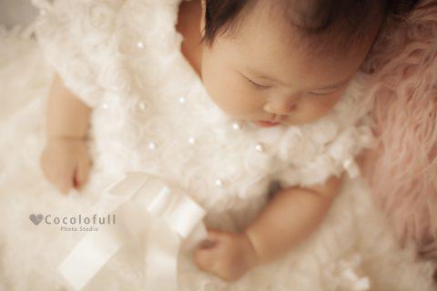 天使の寝顔に癒されます♡