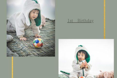 1歳誕生日𓍯 