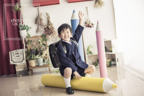 新学期の準備に🌸入園・入学撮影受付中!