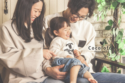 家族写真いいですよね♡