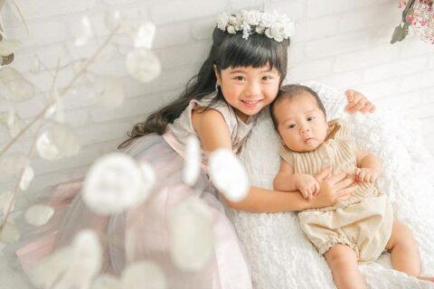 KIDS PHOTO-sister&baby-